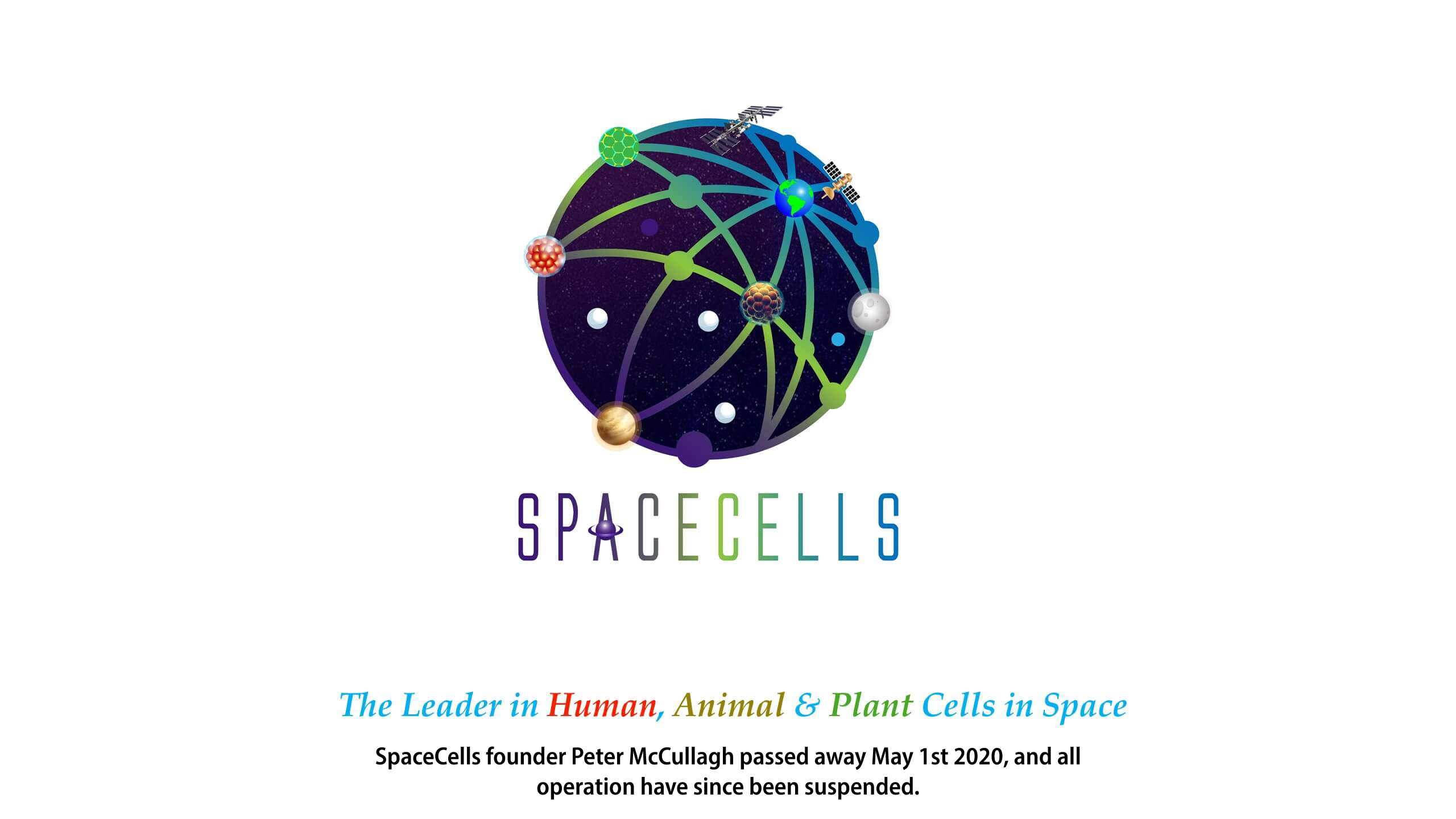 SpaceCells - The Leader in Human, Animal & Plant Cells in Spacw